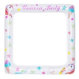 Photobooth Unicorn Party70x70 gonfiabile