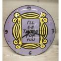 Orologio tema Friendsd. 30cm