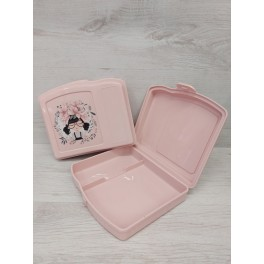 Lunch box rosa 18x15cm