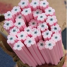 Canes fiore rosa